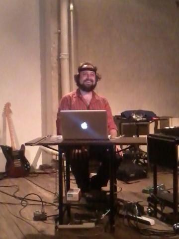 Zach Layton at Experimental Intermedia