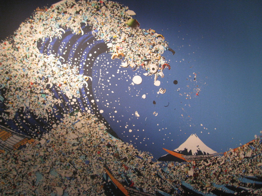 Tsunami of Trash, after Hokusai, anonymous From http://galleryhip.com/great-pacific-garbage-patch-gyre.html